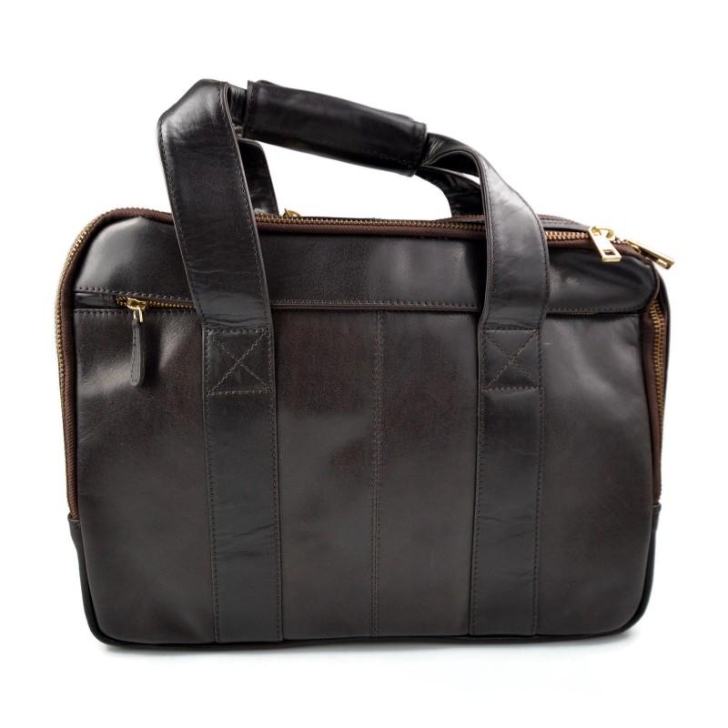 ... Mens leather duffle bag shoulder bag travel bag luggage weekender  carryon cabin bag gym leather bag f60f00e889a7b