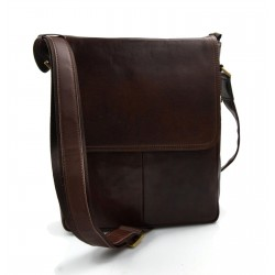 Ladies handbag leather bag clutch hobo bag shoulder bag brown crossbody bag made in Italy genuine leather satchel