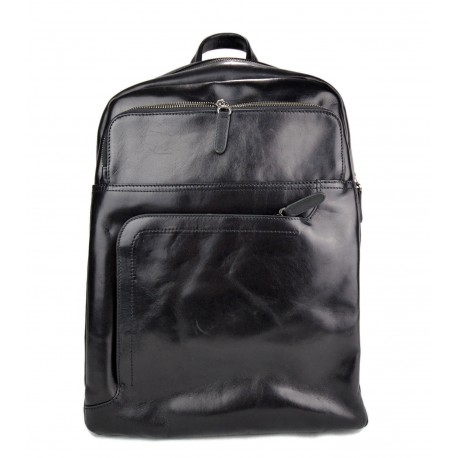 0995e6ce2f Zaino nero pelle vitello uomo donna borsa palestra zaino scuola zaino lavoro