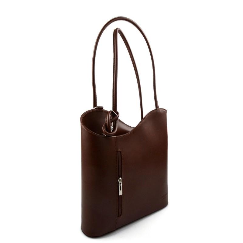 sac dos femme brun sac d 39 paule sac main en cuir. Black Bedroom Furniture Sets. Home Design Ideas