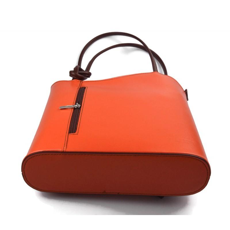 114ad42f52 ... Leather brown backpack genuine leather travel bag weekender sports bag  ...