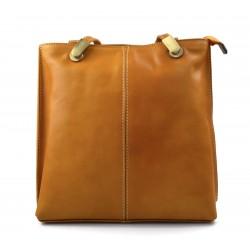 Sac à dos femme miel sac d'èpaule sac à main en cuir sacoche