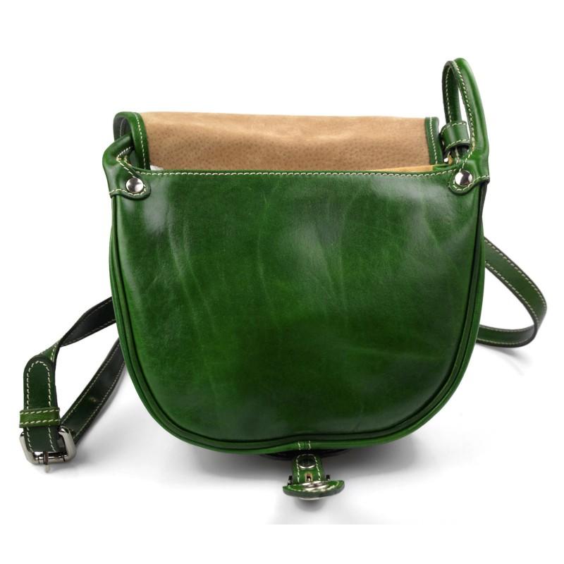 a11df770d ... Bolso de mujer de piel bandolera de cuero verde bolso de espalda bolso  de cuero ...