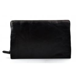 Borsa clutch pelle clutch pelle grande borsa sera pelle pochette pelle borsa nero