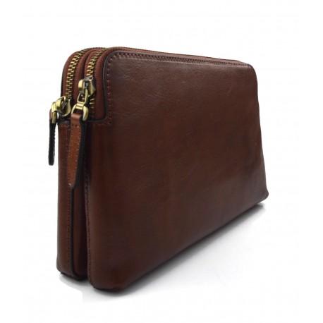 Borsa donna pelle marrone borsa grande borsa donna a mano e a spalla ae2462104ac