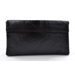 Borsa clutch pelle clutch pelle grande borsa sera pelle pochette pelle borsa pelle nero