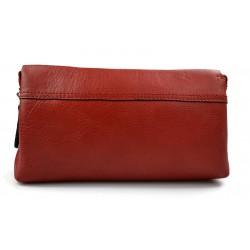 Borsa clutch pelle clutch pelle grande borsa sera pelle pochette pelle borsa pelle rosso