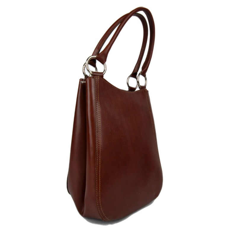8698e79a187596 ... Damen henkeltasche leder handtasche braun leder schultertasche faltbare  tasche ...