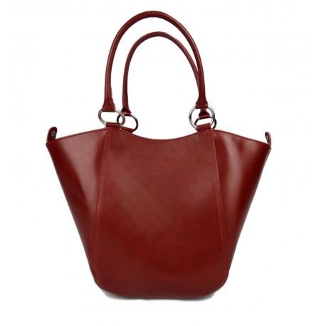6ddc39c0f1734 Damen henkeltasche leder handtasche rot leder schultertasche faltbare tasche