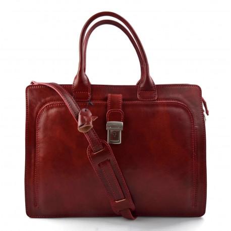 0c8fbeac67 Nouveau Sac cartable cuir serviette a main cuir bandoulière homme femme  messenger sac de travail sac cartable