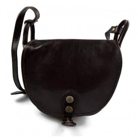 87a4962ccfed Leather messenger bag mens women leather bag leather shoulder bag dark brown