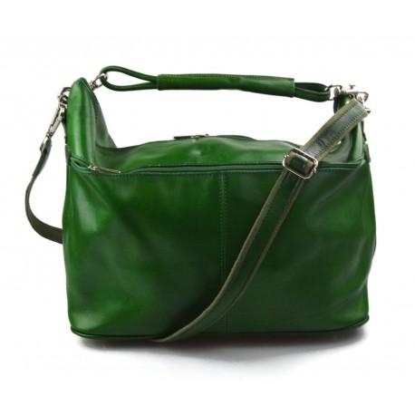 0047b60ca1 Sac de voyage en cuir sac bagage sac homme femme sac voyage sac sport cuir  vert