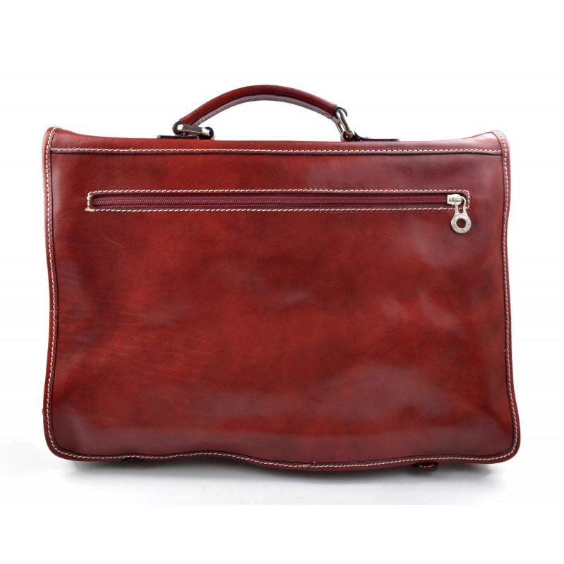 0d842aacbf ... Genuine italian leather shoulder messenger bag ipad laptop ladies men  notebook dark brown