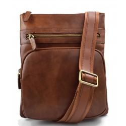 Hobo bag mens ladies satchel leather shoulder bag sling bag brown crossbody bag messenger leather bag