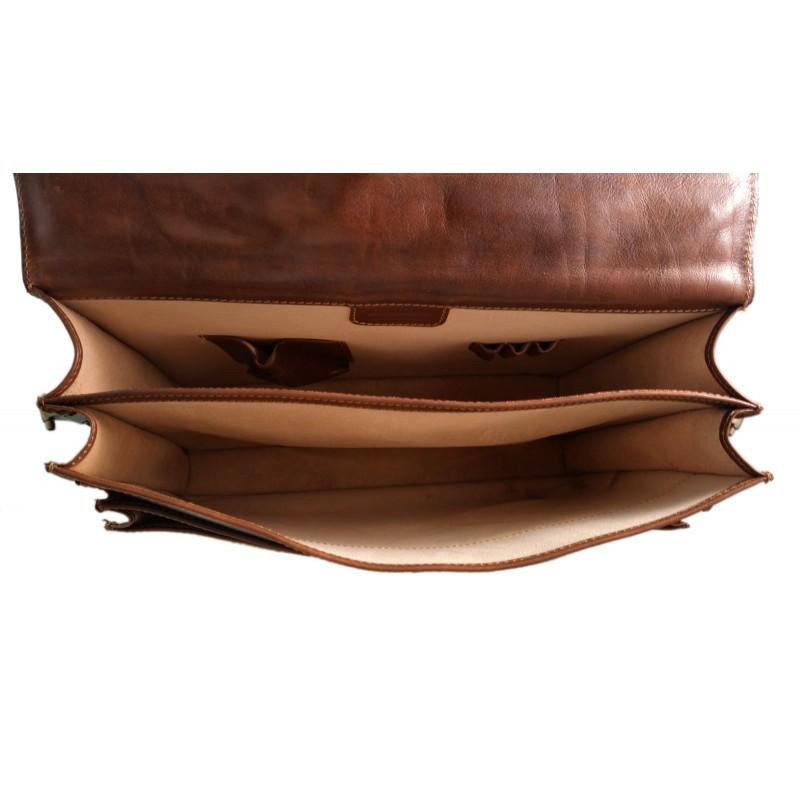 negozio online 018f5 4fff8 Cartella pelle uomo donna valigetta 24 ore borsa pelle pelle ...