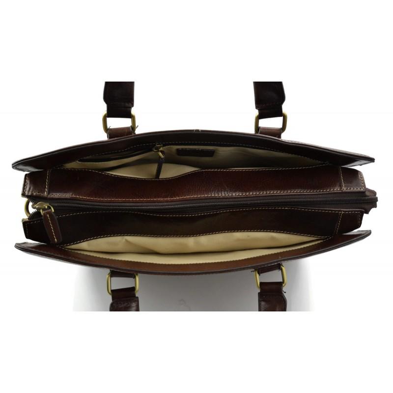 sac cuir doctor bag docteur homme femme sac messenger marron fonc. Black Bedroom Furniture Sets. Home Design Ideas