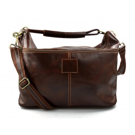 49e40ace7 Duffle bag men women leather brown travel bag luggage leather carry on bag