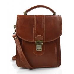 Crossbody satchel genuine leather bag shoulder bag hobo bag honey