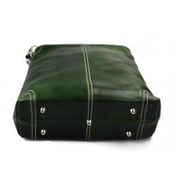 Leather shoulder bag satchel mens ipad bag handbag brown luxury bag
