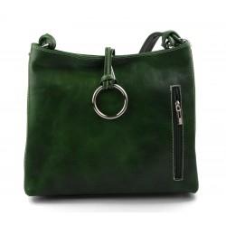 Borsa donna doctor bag vera pelle medico handbag manici e tracolla