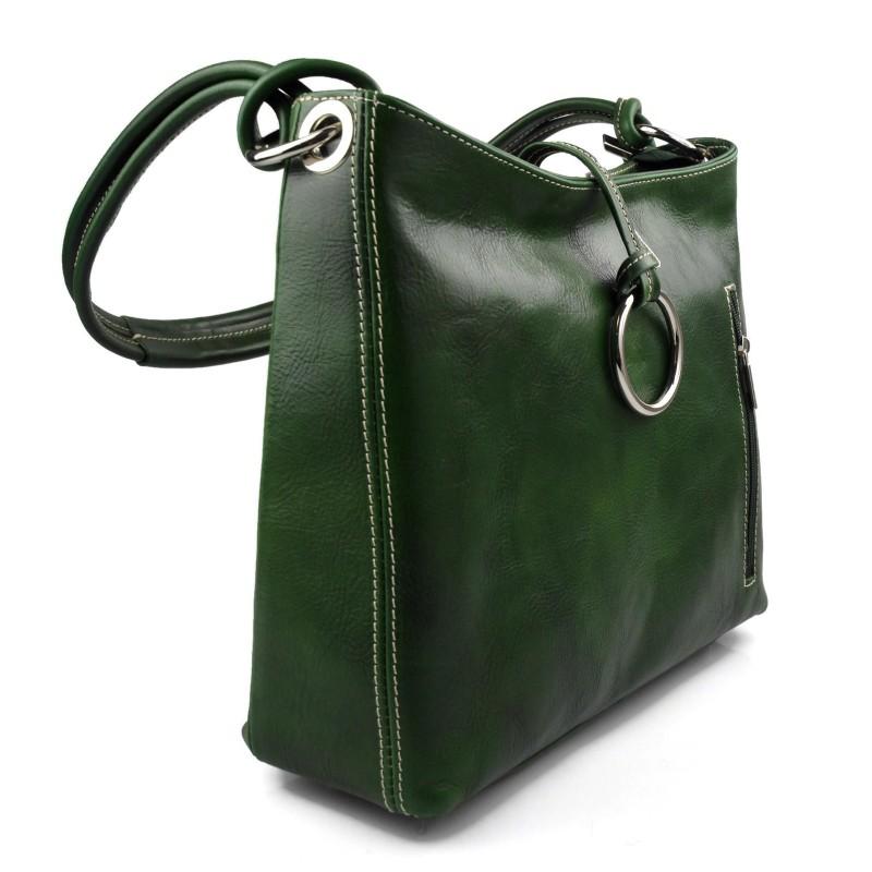 b181e2b52 ... Bolso bandolera de cuero de mujer bolso de espalda de piel bandolera  verde ...