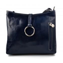 Damen tasche handtasche ledertasche schultertasche ledertasche henkeltasche blau
