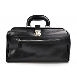 Leder doctor bag arzttasche leder umhängetasche briefträger aktentasche schwarz