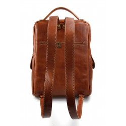 Leather briefcase business bag conference bag satchel brown