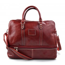 Reisetasche ledertasche sporttasche reisetasche leder schultertasche herren damen umhängetasche rot