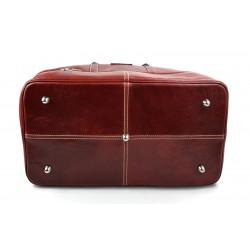 Bolso mujer de cuero doctor bag bolso doctor en piel bolso de espalda rojo