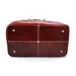 Sac docteur doctor bag cuir sac main cuir sac femme sacoche d'èpaule rouge