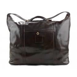 Herren ledertasche reisetasche umhangetasche mit griffe schultertasche sporttasche seesack leder kaffee