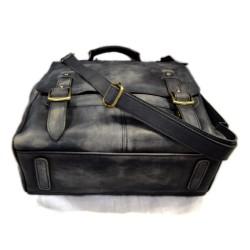 Bolso de viaje bolso de cuero mochila de cuero de hombre mochila miel