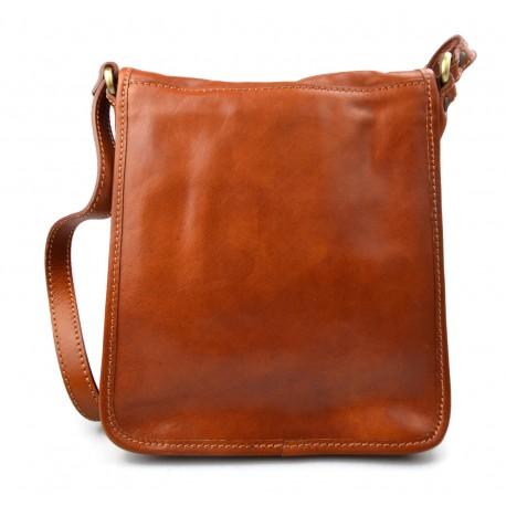 bba5f2ff076a Genuine italian leather XXL shoulder messenger bag ipad laptop ladies men  notebook dark brown