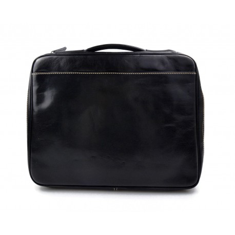 Leather shoulderbag briefcase carry on messenger bag leather ladies handabag mens office bag brown