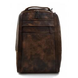 Backpack leather backpack shoulder bag travel backpack dark brown backpack leather backpack washed leather vintage backpack