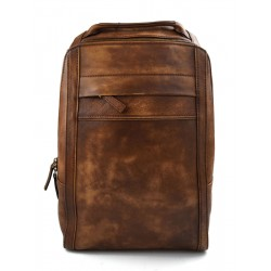 Backpack leather backpack shoulder bag travel backpack brown backpack leather backpack washed leather vintage backpack