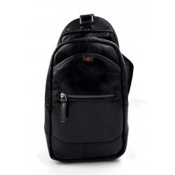 Mens waist leather women black shoulder bag ladies hobo bag travel back sling leather satchel backpack leather crossbody