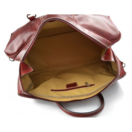 c19f1ca25c Cartella pelle uomo donna valigetta 24 ore borsa pelle a mano e a tracolla  executive portadocumenti in