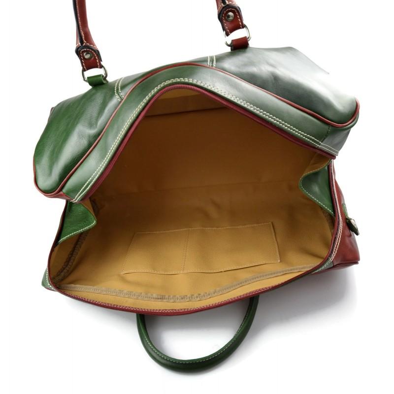 sac de voyage en cuir sac de sport sac bagage drapeau. Black Bedroom Furniture Sets. Home Design Ideas