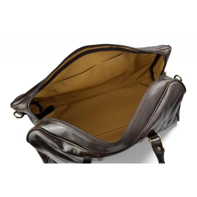 sac de voyage en cuir homme femme bandouli re sac bagage. Black Bedroom Furniture Sets. Home Design Ideas