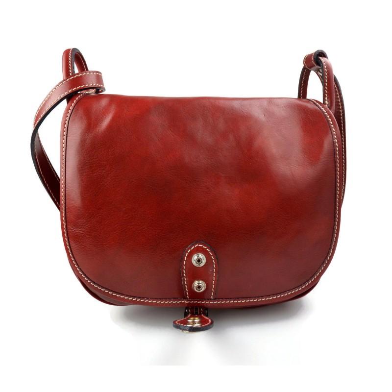 03d2871e74326 ... Damen leder tasche henkeltasche umhängetasche schultertasche  tragetasche ledertasche damen braun rot leder made in Italy ...