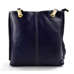 Damen tasche handtasche blau ledertasche damen ledertasche
