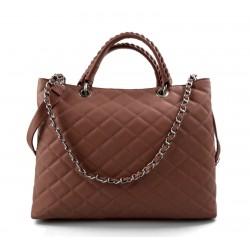 Leather women purse pink handbag leather shoulder bag leather shopper