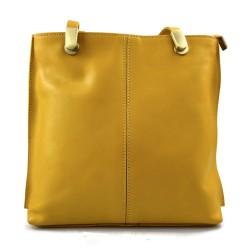Sac à dos femme jaune sac d'èpaule sac à main en cuir sacoche
