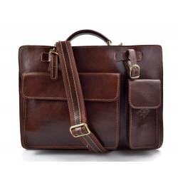 Sac à main cuir bandoulière sac homme femme marron messenger cuir sac d'épaule