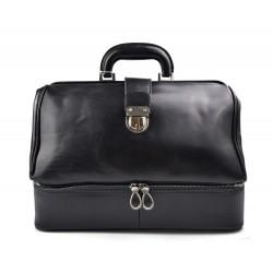 Sac cuir docteur noir sac doctor bag sac à main cuir serviette sac cartable docteur cuir marron