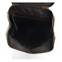 Leather folder A4 portofolio document file folder A4 leather zipped document leather bag office folder document organiser brown