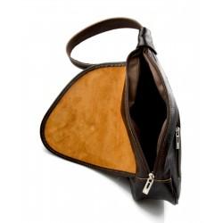 Leather notebook ipad tablet satchel messenger men ladies