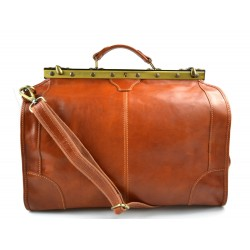 Sac docteur voyage en cuir doctor bag cuir sacoche femme homme miel sac à main en cuir sac femme